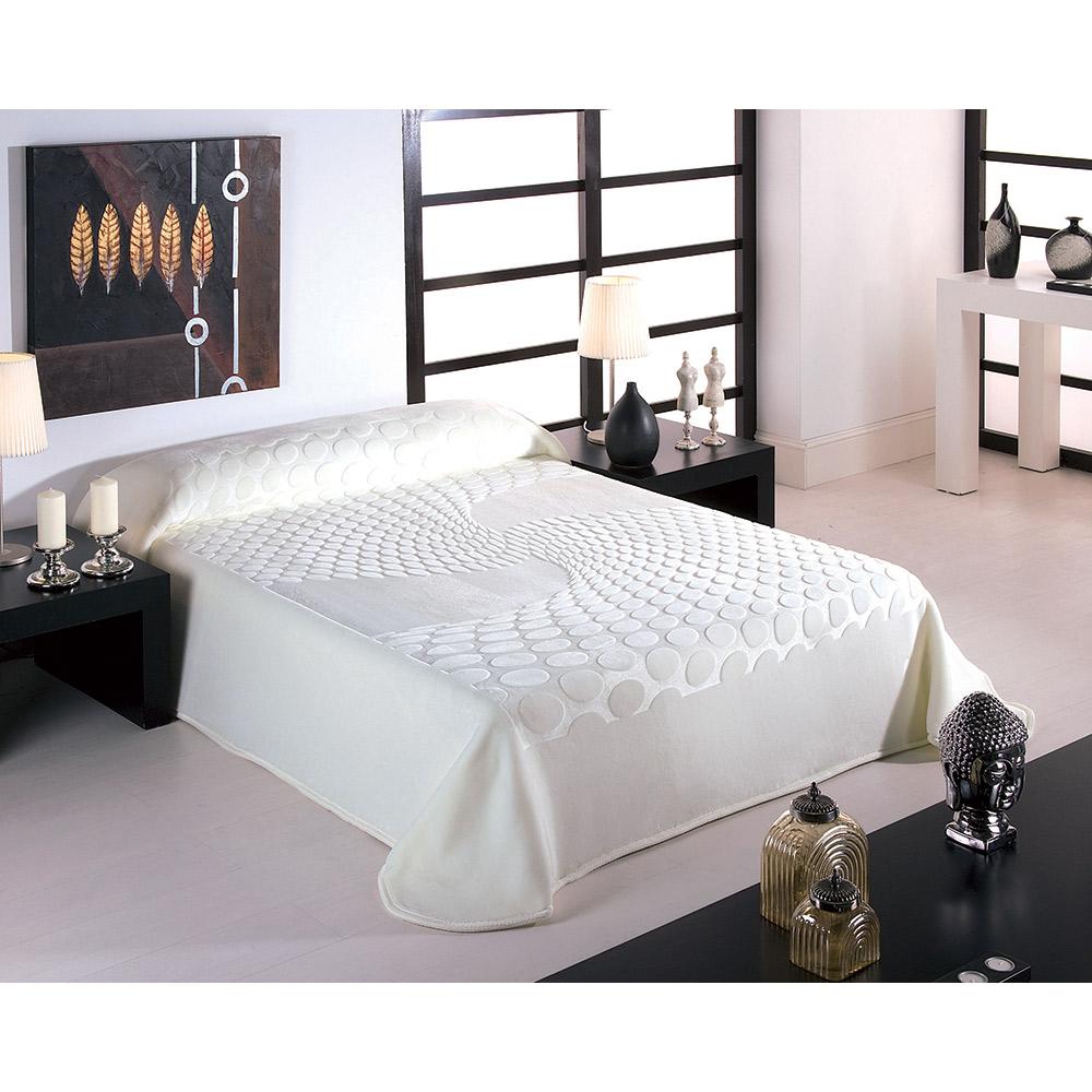 Κουβέρτα αναγλύφη SERENA 413- ivory