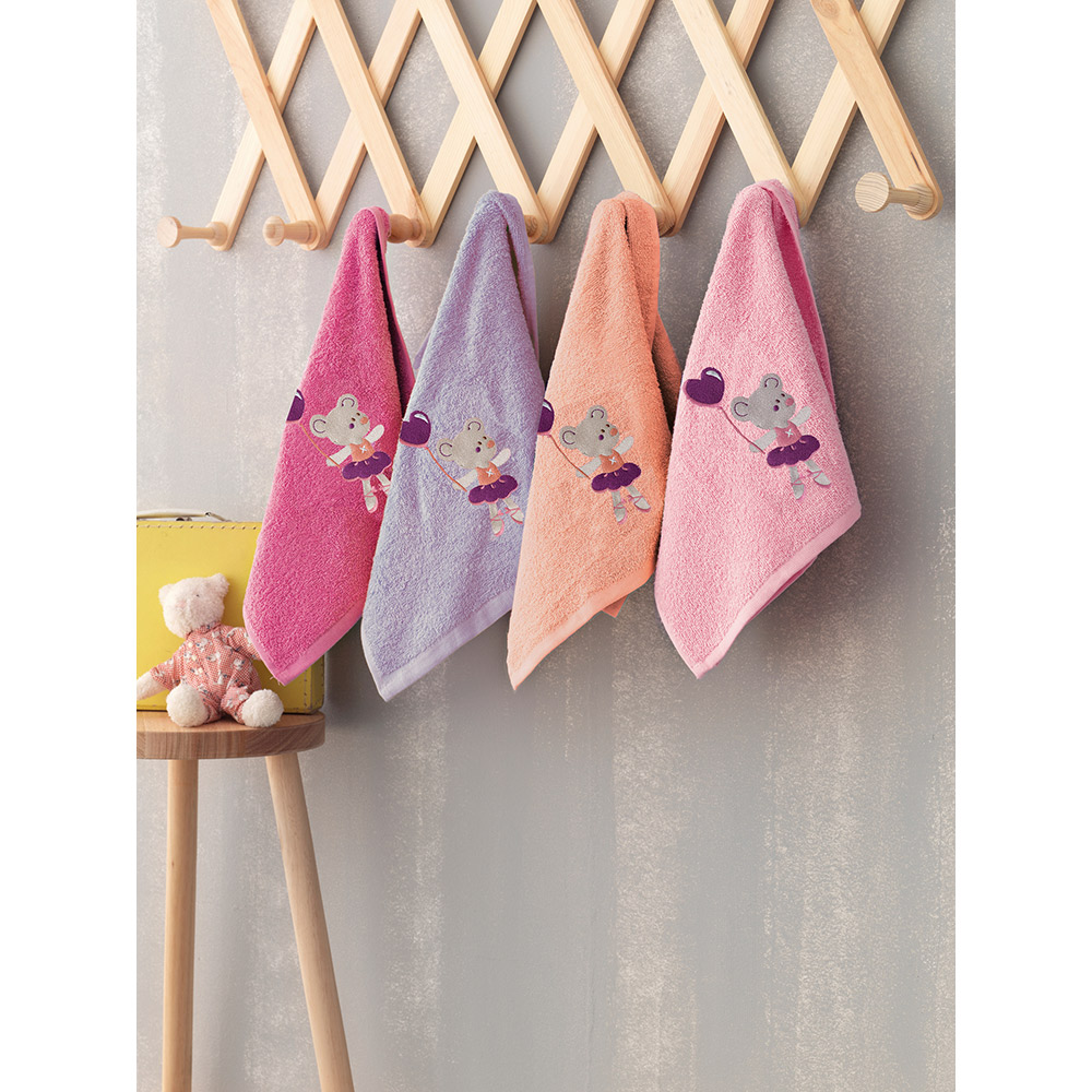 Σετ πετσέτες Bebe BALLARINA  (4 TMX)