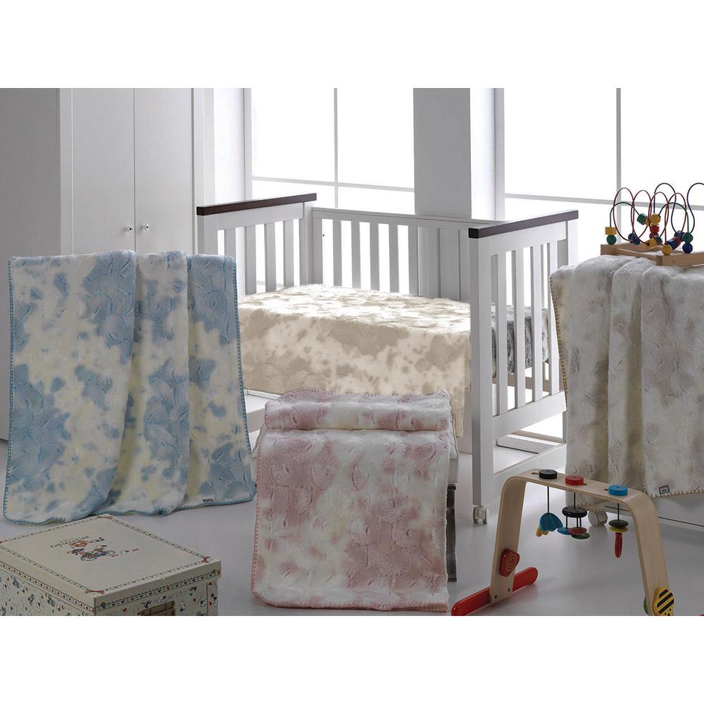 Κουβέρτα Bebe MORAPEL LUXE 828 BLUE