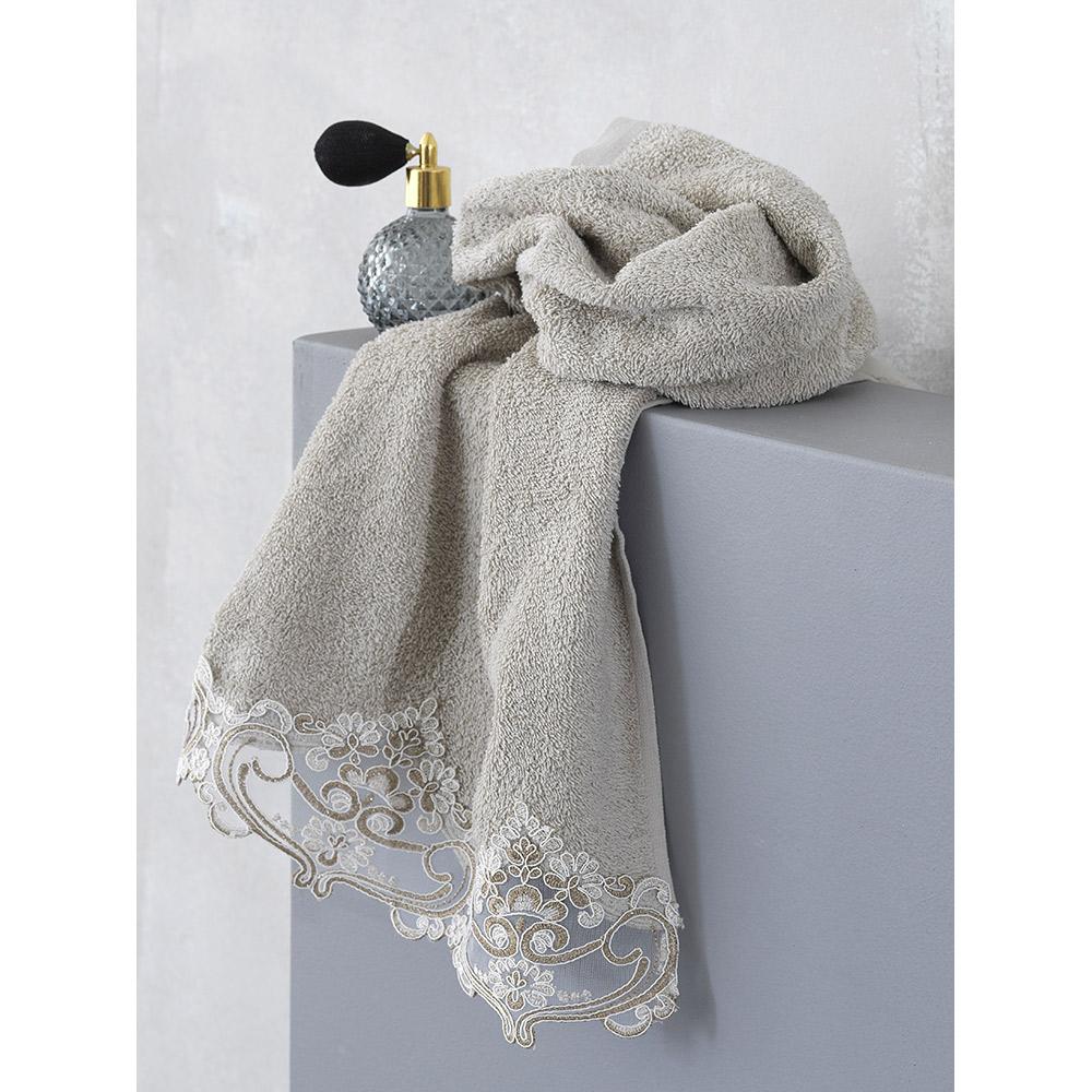 Σετ πετσέτες  100% βαμβάκι VEDA (3τμχ)  BEIGE