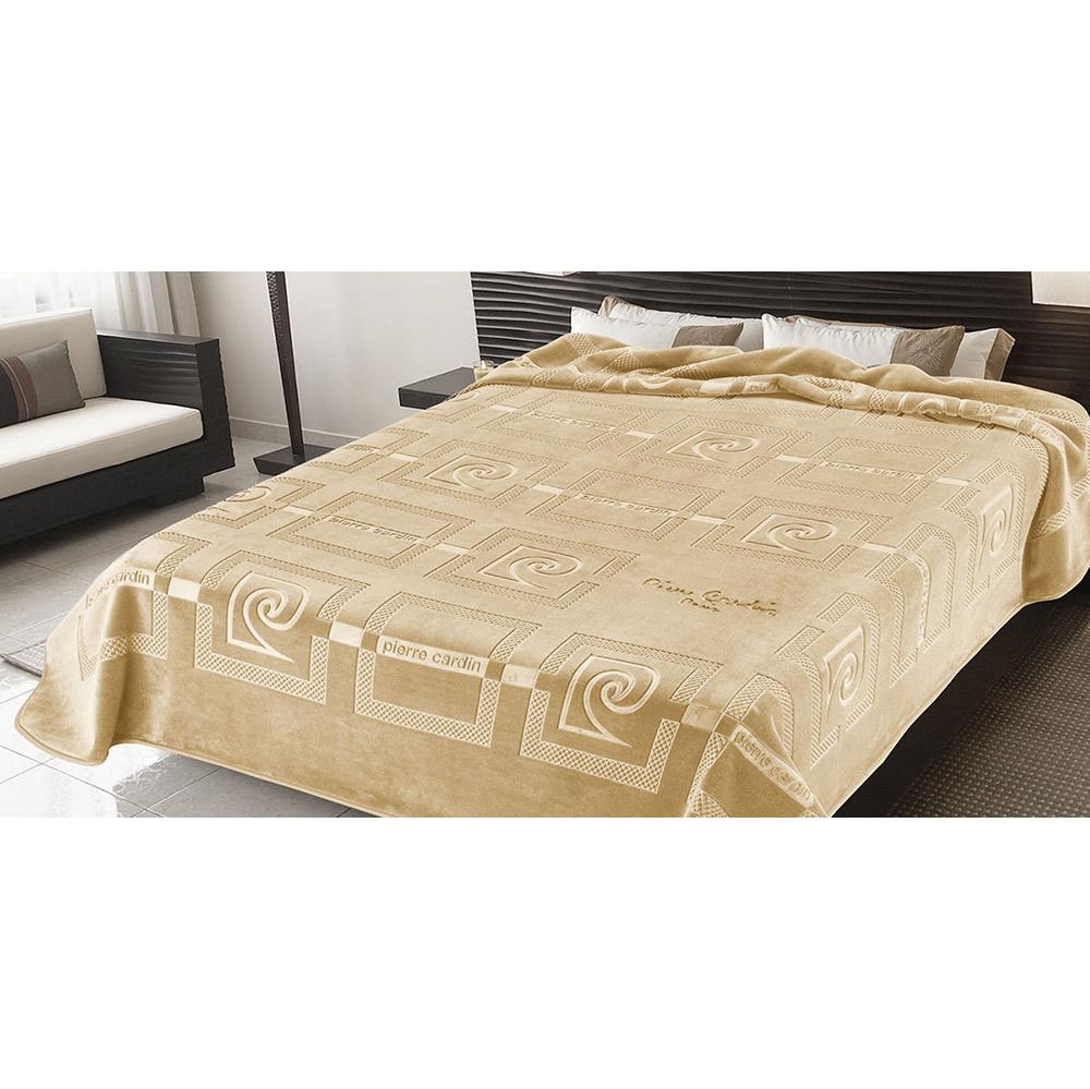 Κουβέρτα ανάγλυφη PIERRE CARDIN OFF WHITE 15-657