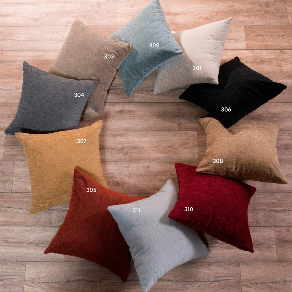 Διακοσμητικό μαξιλάρι καναπέ solid 306 Μαύρο