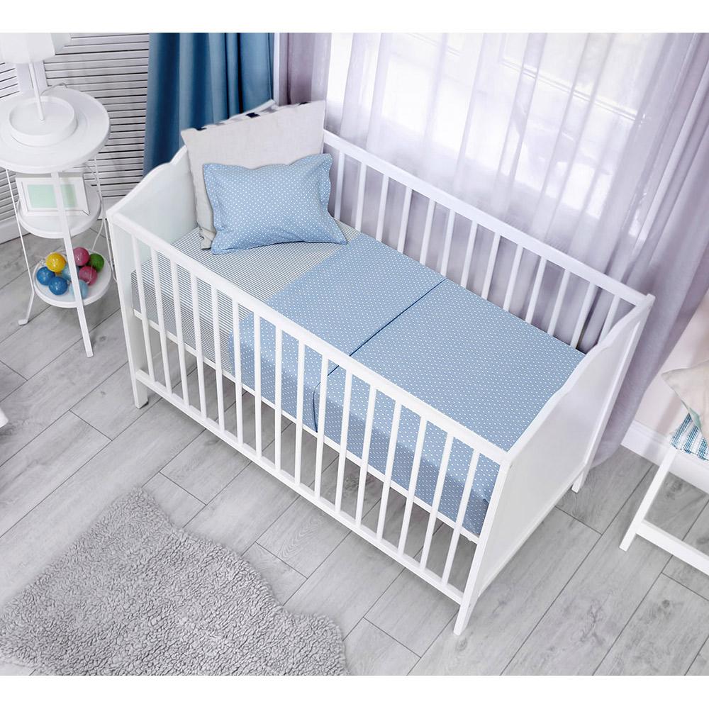 Σετ σεντόνια κούνιας  baby  ART-5132 Ciel (3τμχ)