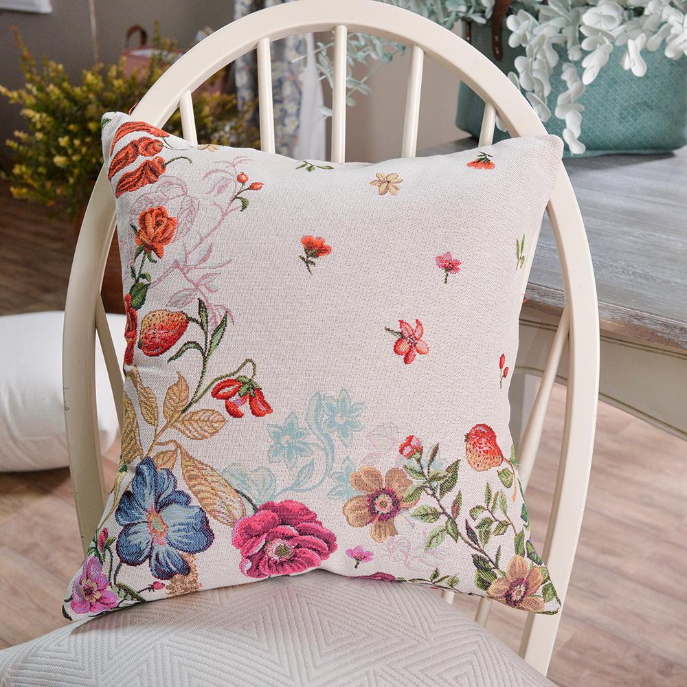 Διακοσμητικό μαξιλάρι καναπέ Cabrera Floral ΜΠΕΖ
