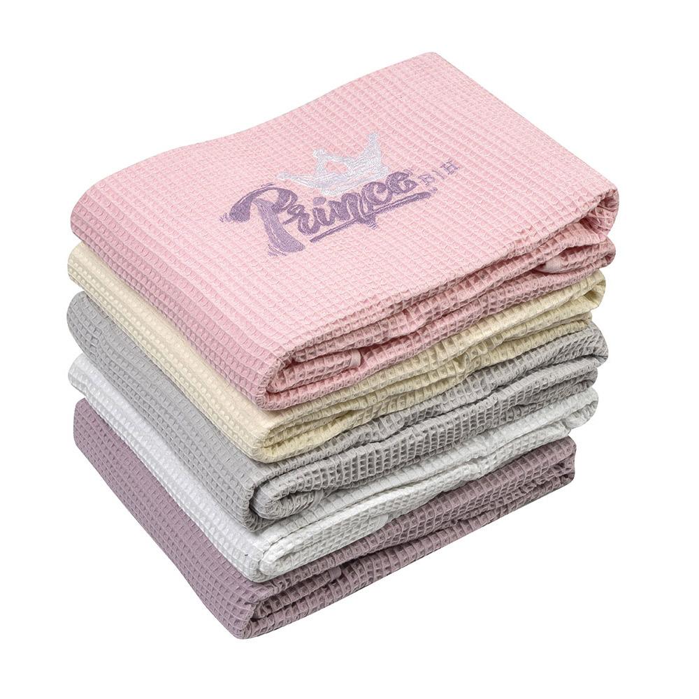 Κουβέρτα  πικέ βαμβακερή 5171 Grey