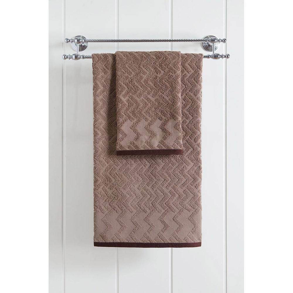 Πετσέτα μπάνιου 3237 Jacquard Brown
