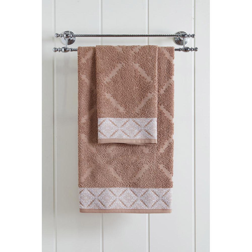 Πετσέτα μπάνιου 3230 Jacquard Brown