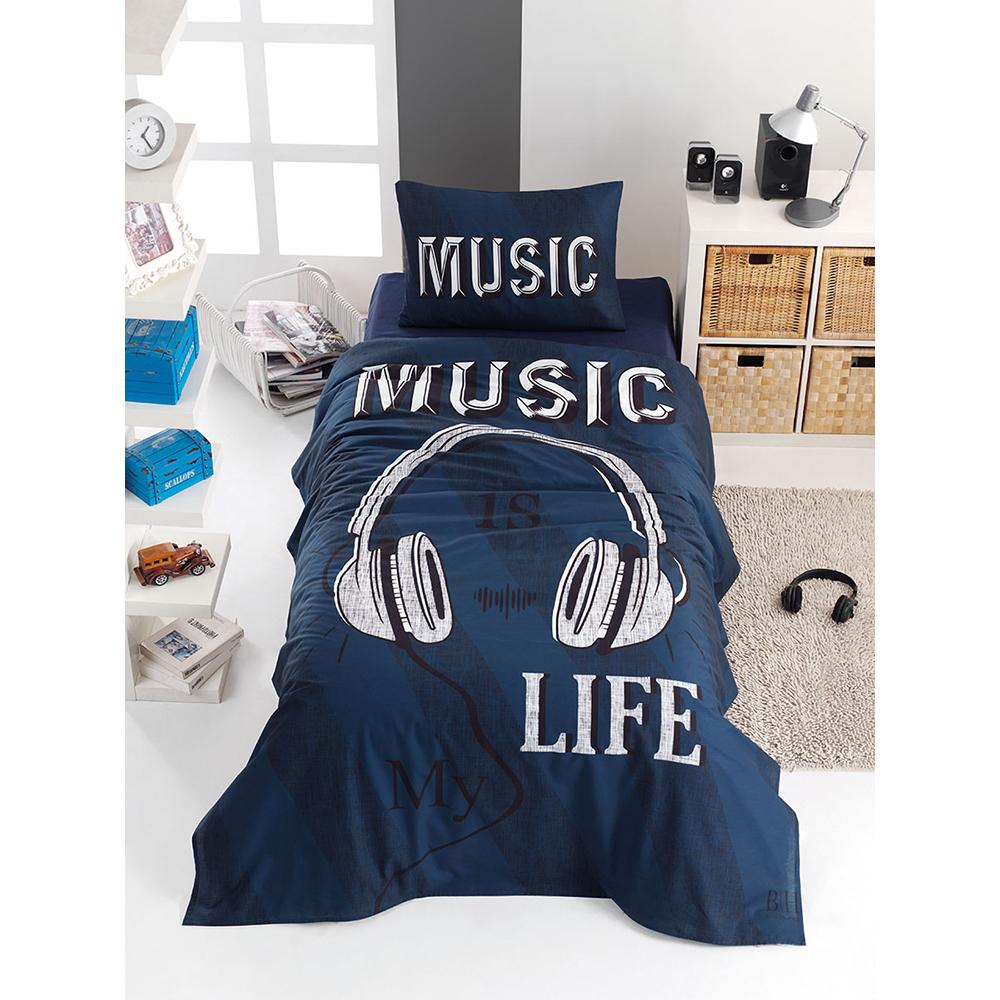 Σετ θήκη παπλώματος  ART-6116 Sound blue