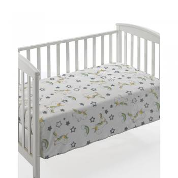 Κουβέρτα Bebe dolce printed f69-multicolor 01 unicorn
