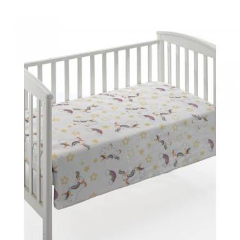 Κουβέρτα Bebe dolce printed f69-multicolor 04 unicorn